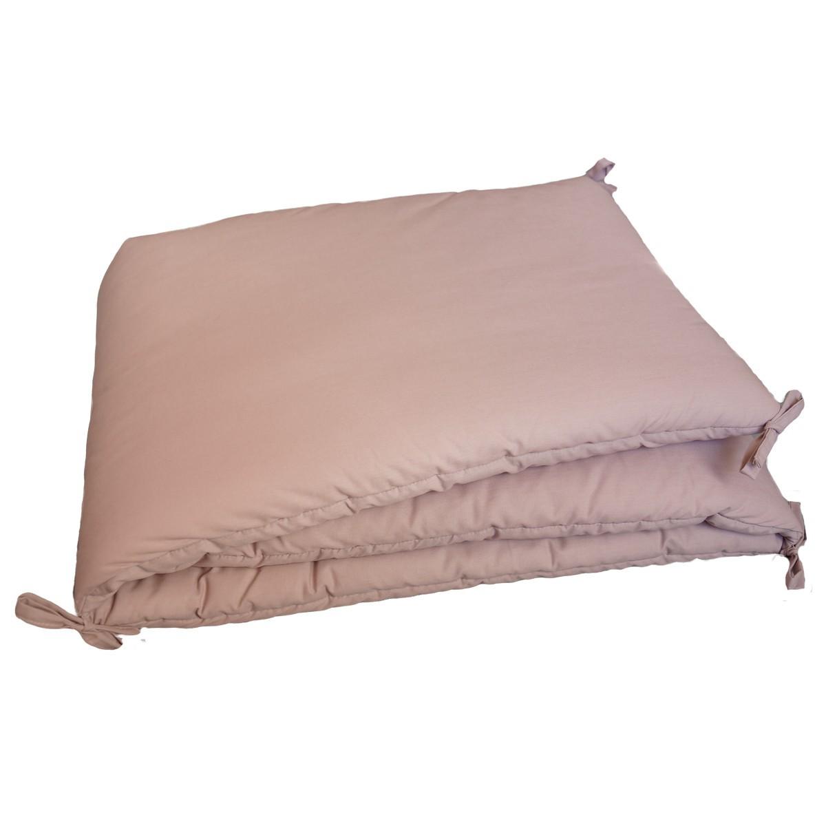 tour de lit b 233 b 233 uni en percale de coton fabrication fran 231 aise