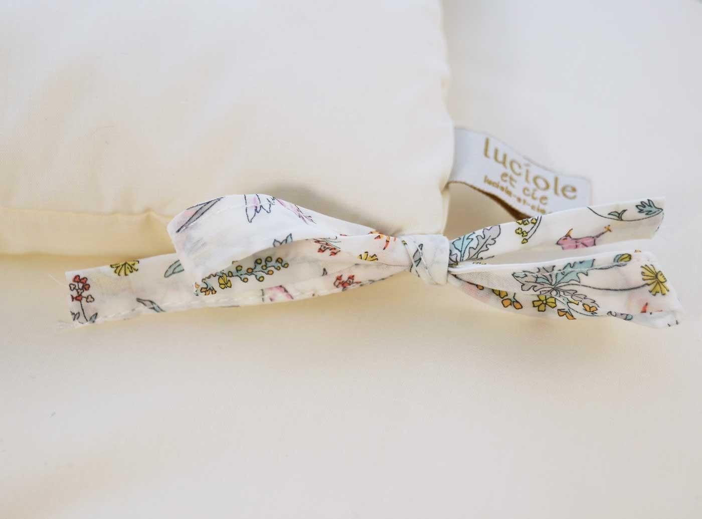 Tour de lit fille liberty Alice rose