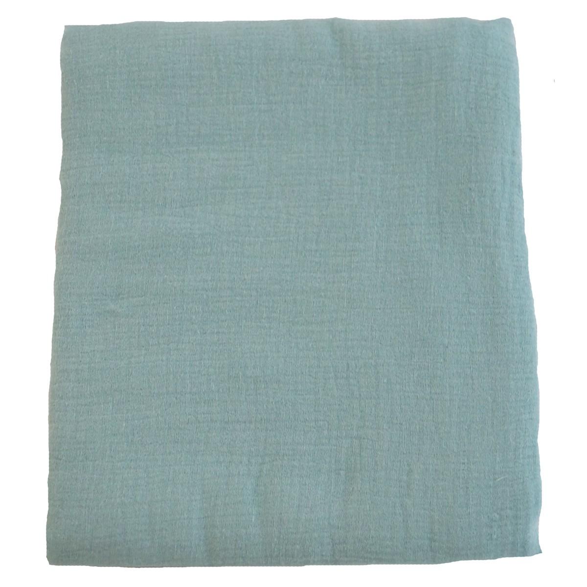 Housse en mousseline de coton pour tapis de jeux en mousse