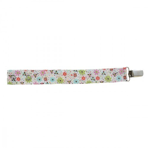 Attache tétine en tissu liberty Merry