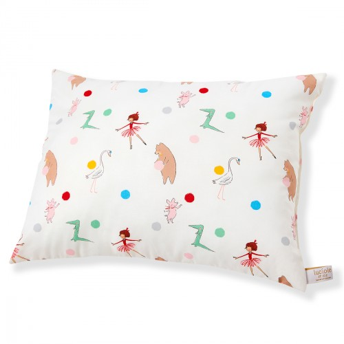 Pillow for toddler with Parade design 13 x 18