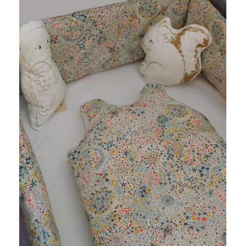 tour de lit design bébé Tour de lit bébé garçon   Luciole et Cie tour de lit design bébé
