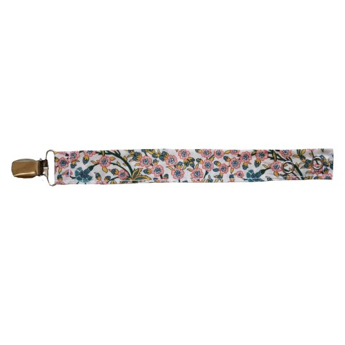 Pacifier Holder with Liberty Fabric Eloise
