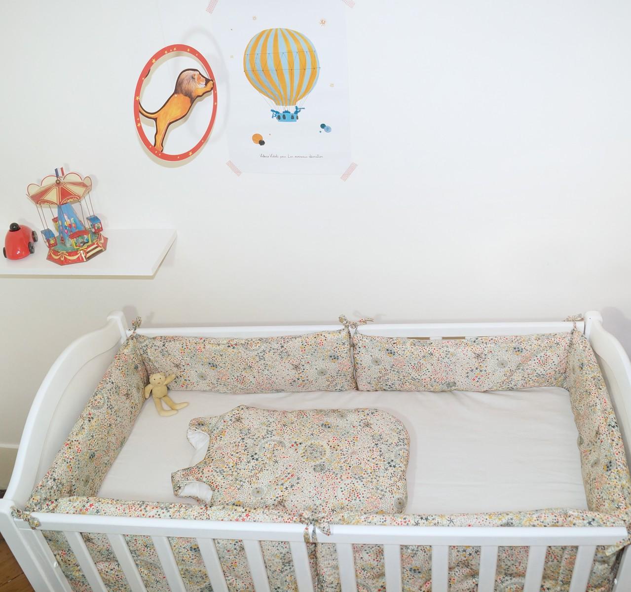 Gigoteuse 24 mois garçon en liberty étoiles Multicolores TOG 2