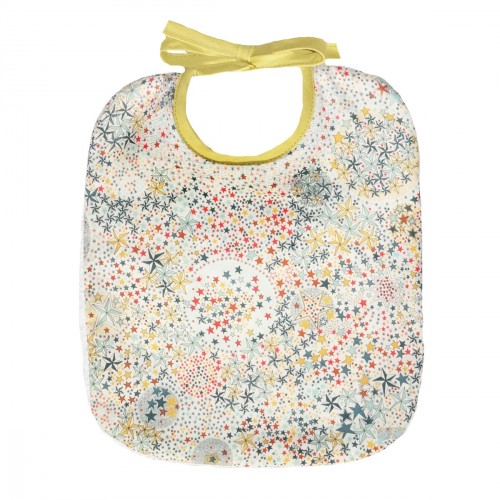 Bib, Multicolored Stars